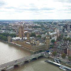 Gorgeous view of London! #strousehouseadventures