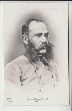 ÖSTERREICH , FOTOKARTE ADEL & MONARCHIE , KAISER FRANZ JOSEF I , ca.1915   eBay
