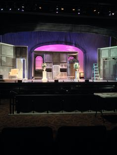 The drowsy chaperone scenic painting by Cody Rutledge