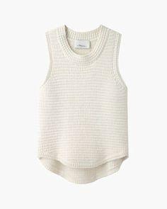 3.1 Phillip Lim  Bubble Stitch Chenille Vest