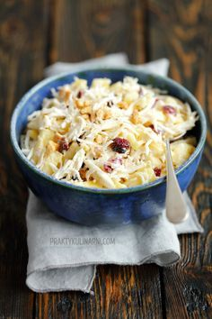 Plat Simple, Cranberries, Macaroni And Cheese, Ethnic Recipes, Food, Eating Organic, Eat Healthy, Mac And Cheese, Essen