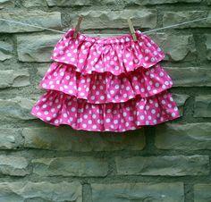 Cupcake Skirt PDF Tutorial Sewing Pattern by pinkchickadeepattern, $6.50