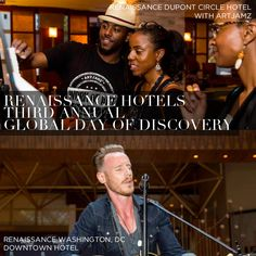 Art and Soul. Renaissance Hotels in the District Celebrate the 3th Annual #DayofDiscovery.