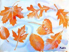 Swirling Leaves, Artsonia Art Museum :: Artwork by Fall Art Projects, Arts Ed, Autumn Art, Art Lesson Plans, Second Grade, Art Museum, Project Ideas, School Stuff, Art For Kids