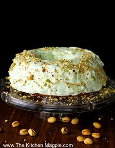 Homemade Pistachio Pudding Cake, the perfect dessert recipe. A decadent frosting and pudding mix in a homemade cake makes this one of the best desserts ever!