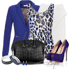 Colored Animal Print, created by ccroquer on Polyvore