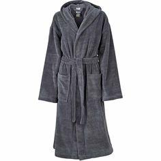 Peignoir à capuche polyester et coton - MB434 - gris Hoods, Unisex, Polyester, Clothes, Spa, Bath, Decoration, Products, Ideas
