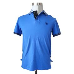 Just Cavalli Men Classic Polo Shirt Size S Made in Turkey 8% Elastane Slim Fit #JustCavalli #Polo