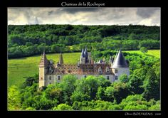 Chateau de la Rochepot - Cote d'Or, Bourgogne - another pretty view Secret Gardens, Chateaus, French Chateau, Cathedrals, Switzerland, Castles, Or, Medieval, England
