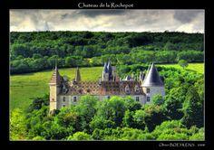 Chateau de la Rochepot - Cote d'Or, Bourgogne - another pretty view