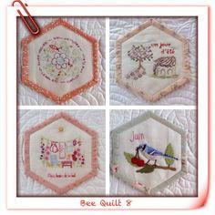 Bee Quilt 8 et 9