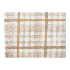 Gold Check Placemat - Threshold