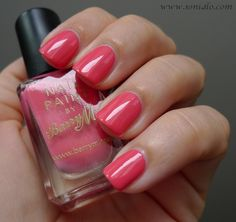 Barry M nail polish for summer