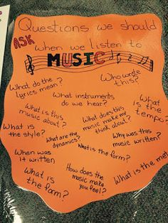 Musical Musings and Creative Thoughts: Anchor charts