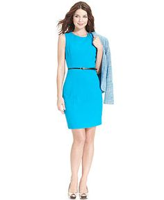 Calvin Klein Suit Separates Cerulean Collection Wear To Work Women Macy S