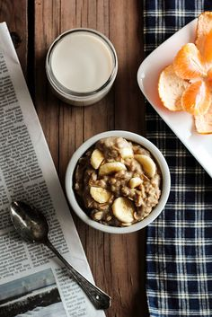 Peanut Butter Banana Porridge by pastryaffair on Flickr.