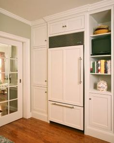Wood Panels Refrigerator Pictures