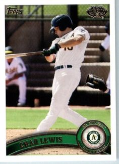 2011 Topps Pro Debut Baseball Card # 214 Chad Lewis - AZL Athletics - MiLB (Prospect - Rookie Card) MLB Trading Card by Topps. $1.87. 2011 Topps Pro Debut Baseball Card # 214 Chad Lewis - AZL Athletics - MiLB (Prospect - Rookie Card) MLB Trading Card