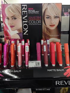 Revlon Colorburst Lacquer Balms and Matte Balms