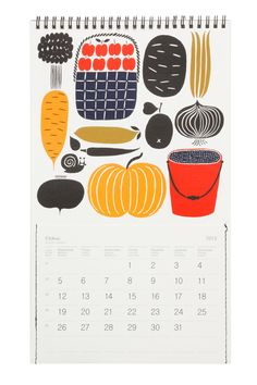 2013 Wall Calendar // Marimekko - The world's most expensive calendar but I know it would make me happy every day :D