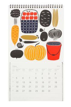 2013 Wall Calendar // Marimekko