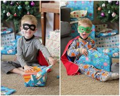 Superhero mask pattern and tutorial. It's been a year now and my boys still wear these 3 days a week!  And they were way easy to make.
