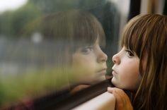 children, little, girl, cute, beauty, sadness, childhood, window, reflection