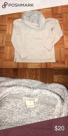 J Crew Cowl Neck sweatshirt J Crew Cowl Neck Sweatshirt. Only worn once, great condition. Comes from smoke & pet free home.🙅🏻 No trades! J. Crew Tops Sweatshirts & Hoodies