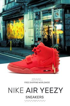 c6fcb26471d40 Order original Nike Air Yeezy PS Red October at online store