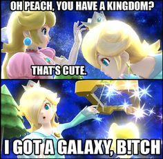 princess peach and rosalina - Google Search