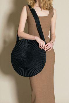 Samuji - Black Circle Bag | BONA DRAG