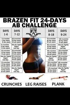 21 day Ab Challenge