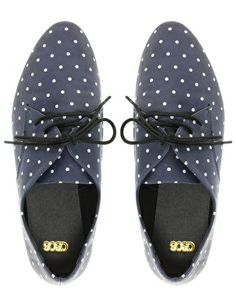 dotted oxfords