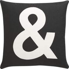 "And 16"" Pillow in Decorative Pillows 