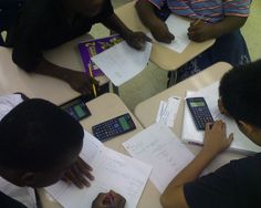 """In """"trivia"""", students team up and the class is given a problem. The team confers and sends a runner to the teacher with the answer on a slip of paper. Everyone gets points for a right answer and points are deducted for a wrong answer. To keep things moving, you may need to put a time limit on each round."""