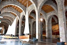 The Museum has a collection of original crafts for work and leisure and most of which comes from the Catalan coast. Barcelona Tourism, Maritime Museum, Seaside, Coast, Culture, The Originals, History, City, Collection