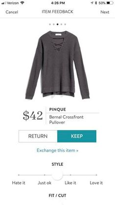 Limited time - styling fee waived!!! Stitch Fix Fashion trends 2017 2018. Ask your stylist for items like this when you SIGN UP TODAY!! Click this picture. Fall & Winter Fashion! #sponsored #stitchfix