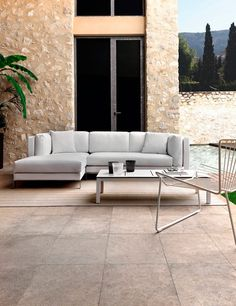 Slim Outdoor Sofa by Expormim | DomésticoShop