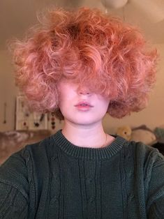 Honey Dipped Curls — Your local pink cloud coming to float over your. Aesthetic Hair, Aesthetic People, Girl Short Hair, Curly Pink Hair, My Hairstyle, Pretty Hairstyles, Cut My Hair, Hair Cuts, Curly Hair Styles