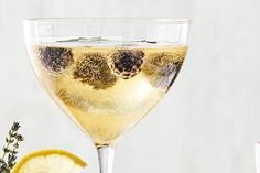 Elderflower Fizz—You'll want to break out your best barware for our spin on the mimosa.