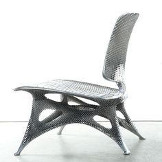Cellular Level Design in 3D Printed Aluminum Chair from Joris Laarman. Playing with ideas is an important way of developing them to their full potential and at Joris Laarman Lab, that's a central activity of their daily practice.