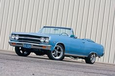 American Muscle Cars… 1965 Chevrolet Chevelle LS3 Convertible