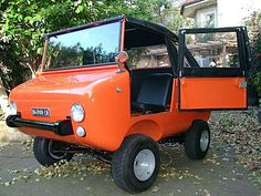 Ferves Ranger : 1969 (FER-rari VE-icoli S-peciali = FERVES) Italy. .... Powered by a Fiat 500 engine with 2 or 4 wheel drive .