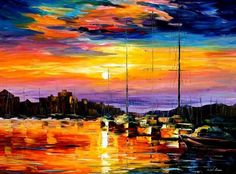 Oil Paintings of Leonid Afremov photo