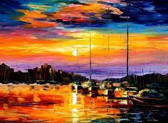 Oil Paintings of Leonid Afremov photo