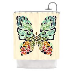 Butterfly by Art Love Passion Shower Curtain