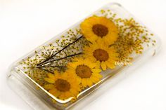 Real flower phone case https://www.etsy.com/listing/192887393/unique-real-luck-pressed-flowers-iphone