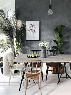 30 Chic Boho Dining Room Decor Ideas With Rustic Style Dining Room Lighting, Modern Dining Room, Dining Room Decor, Decor, Boho Dining Room, Luxury Dining Room, Dining Room Decor Modern, Home Decor, Dining Room Inspiration