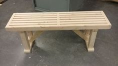 Simple and Sturdy Bench From 2x3s