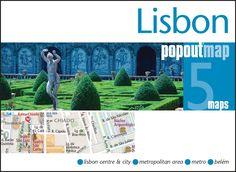 Lisbon, Portugal, PopOut Map by PopOut Products, Compass Maps Ltd.